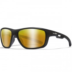 Okulary ASPECT Captivate Polarized Bronze Mirror Matte Black Frame