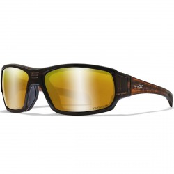 Okulary BREACH Captivate Polarized Bronze Mirror Matte Hickory Brown Frame
