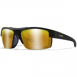 Okulary COMPASS Captivate Polarized Bronze Mirror Matte Black Frame
