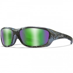 Okulary GRAVITY Captivate Polarized Green Mirror Kryptek Neptune Frame