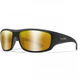 Okulary OMEGA Captivate Polarized Bronze Mirror Matte Black Frame