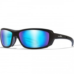 Okulary WAVE Captivate Polarized Blue Mirror Matte Black Frame
