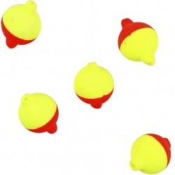 Pływające kulki czerwono żółte