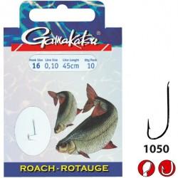 Haczyki Booklet Roach 1050 z przyponem