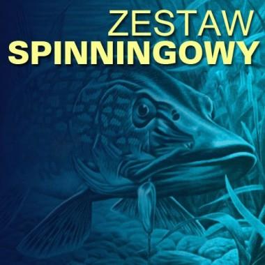 Zestaw spinningowy 200 Wedkarski.com