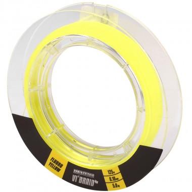 Plecionka Powercatcher VI'Braid Yellow Spro
