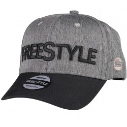 Czapka z daszkiem Freestyle Grey Black Base Cap