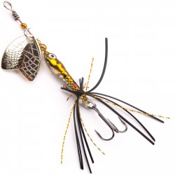 Błystka Larva Mayfly Micro Spinner z kotwiczką
