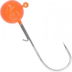 Główka jigowa Round Jighead 22 Fluo Orange