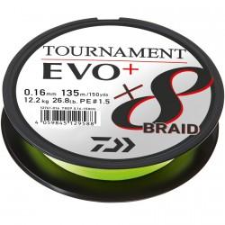 Plecionka Tournament Evo+ Chartreuse 135m