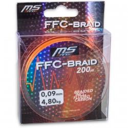 Plecionka FFC-Braid pomarańczowa