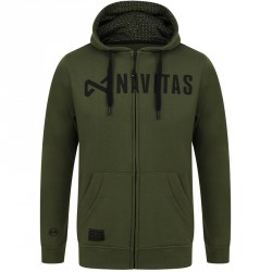 Bluza Core Green Zip Hoody