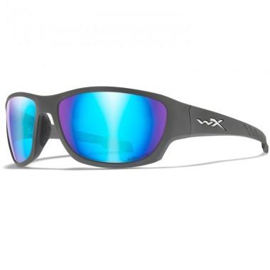 Okulary polaryzacyjne CLIMB Captivate Blue Mirror Matte Grey Frame Wiley-X