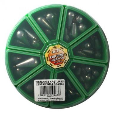 Ciężarki z Krętlikami waga: 3, 5, 7, 10, 15, 20, 25, 30 gram Jaxon