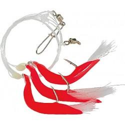 ZESTAW TRIPLE a kolor: czerwony