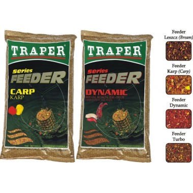 Zanęty Feeder Series 1kg Traper